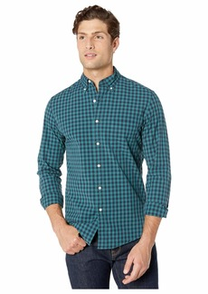 J.Crew Slim Stretch Secret Wash Shirt in Past Plaid Organic Cotton