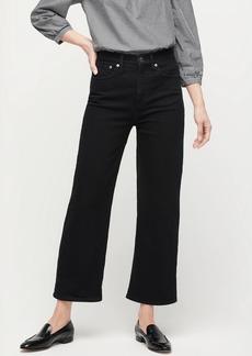 J.Crew Slim wide-leg jean in clean black