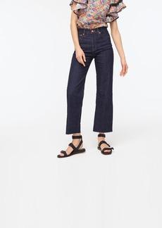 J.Crew Slim wide-leg jean in Rinse wash
