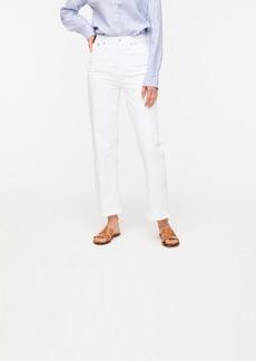 J.Crew Slim wide-leg jean in white