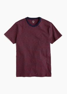 J.Crew Slub cotton T-shirt in navy stripe