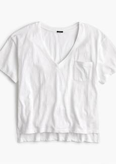 J.Crew Slub cotton V-neck T-shirt