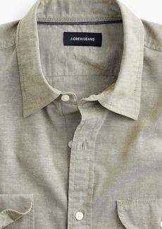 J.Crew Slub poplin cotton shirt