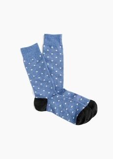 J.Crew Small dot socks