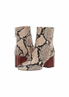 J.Crew Snake Maya Boot with Stacked Heel
