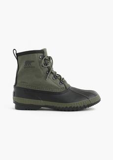 J.Crew Sorel® Cheyanne™ short canvas boots