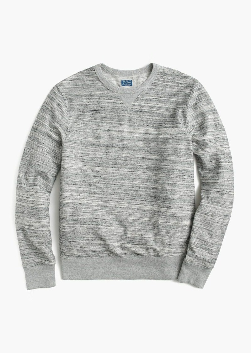 J.Crew Space-dyed reverse terry sweatshirt
