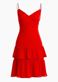 J.Crew Spaghetti-strap cha-cha mini dress