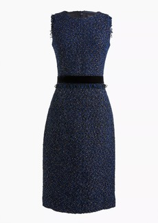 J.Crew Sparkle tweed dress