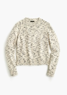 J.Crew Speckled cotton sweater