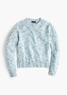 J.Crew Speckled cotton sweater