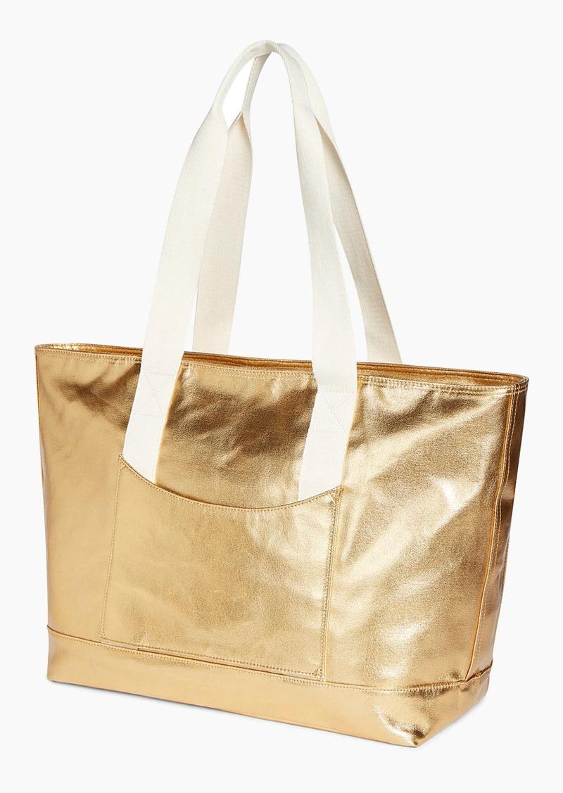 J.Crew STATE Bags Graham metallic tote
