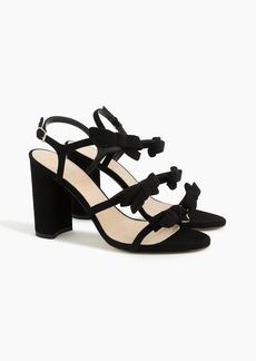 Stella bow heels (100mm) in black