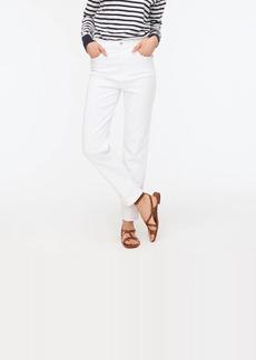 J.Crew Stovepipe jean in white