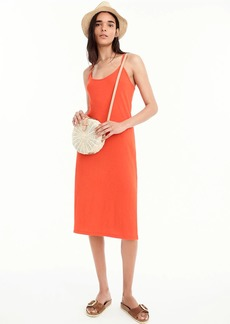 J.Crew Strappy knit midi dress