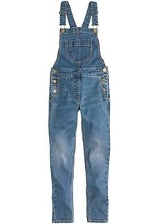 J.Crew Stretch Denim Overalls (Toddler/Little Kids/Big Kids)