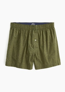 J.Crew Stretch leaves boxers