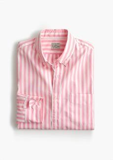 J.Crew Stretch Secret Wash shirt in pink stripe