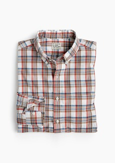 J.Crew Slim stretch Secret Wash shirt in sunset plaid