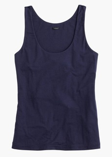 Stretch suiting tank top