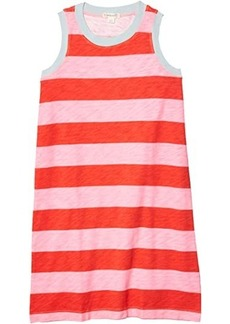 J.Crew Stripe Rugby Dress (Toddler/Little Kids/Big Kids)