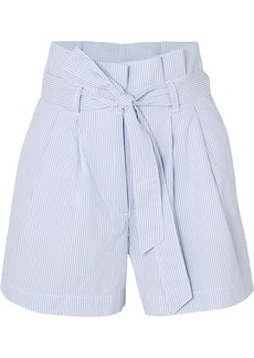 J.Crew Striped Cotton-seersucker Shorts