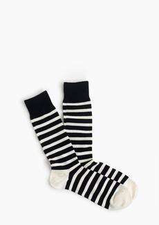 J.Crew Striped socks