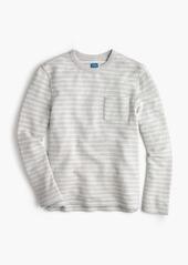 J.Crew Striped sweatshirt in grey
