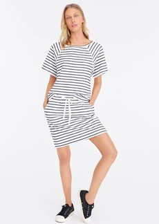 J.Crew Striped terry mini beach skirt