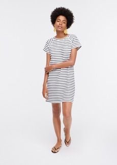 J.Crew Striped terry T-shirt beach dress