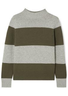 J.Crew Striped Wool-blend Sweater