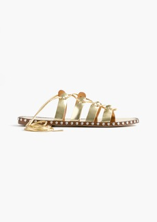 J.Crew Studded lace-up gladiator sandals