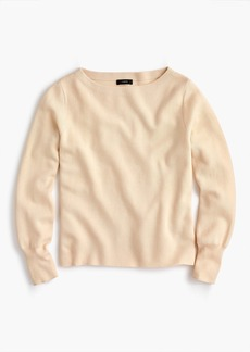 J.Crew Subtle boatneck sweater