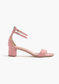 J.Crew Suede double ankle-strap sandals