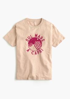 """J.Crew """"Sul mare a Capri"""" T-shirt"""