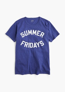 "J.Crew ""Summer Fridays"" T-shirt"