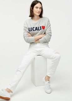 J.Crew Sundry™ locals crewneck sweatshirt