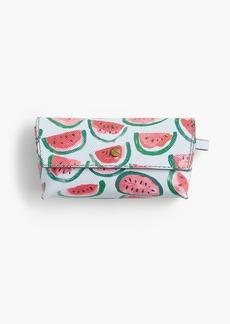 J.Crew Sunglass case in watermelon print