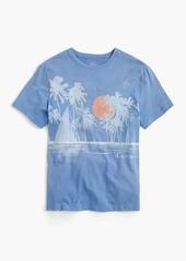 J.Crew Sunset graphic T-shirt