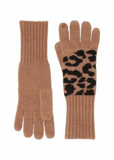 J.Crew Supersoft Leopard Gloves