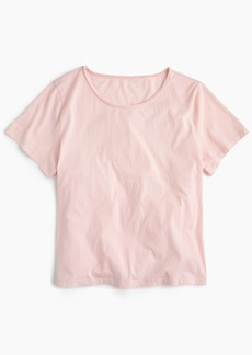 J.Crew Supersoft Supima® raw-edge T-shirt