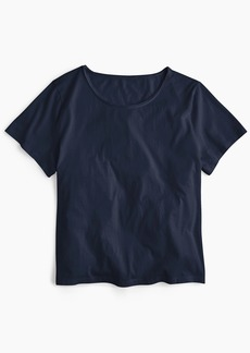J.Crew Supersoft Supima® raw-edge T-shirt