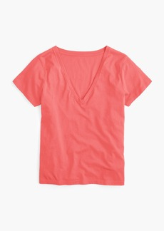 J.Crew Supersoft Supima® V-neck T-shirt