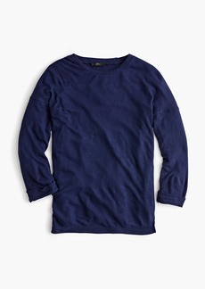 J.Crew Supersoft three-quarter sleeve top