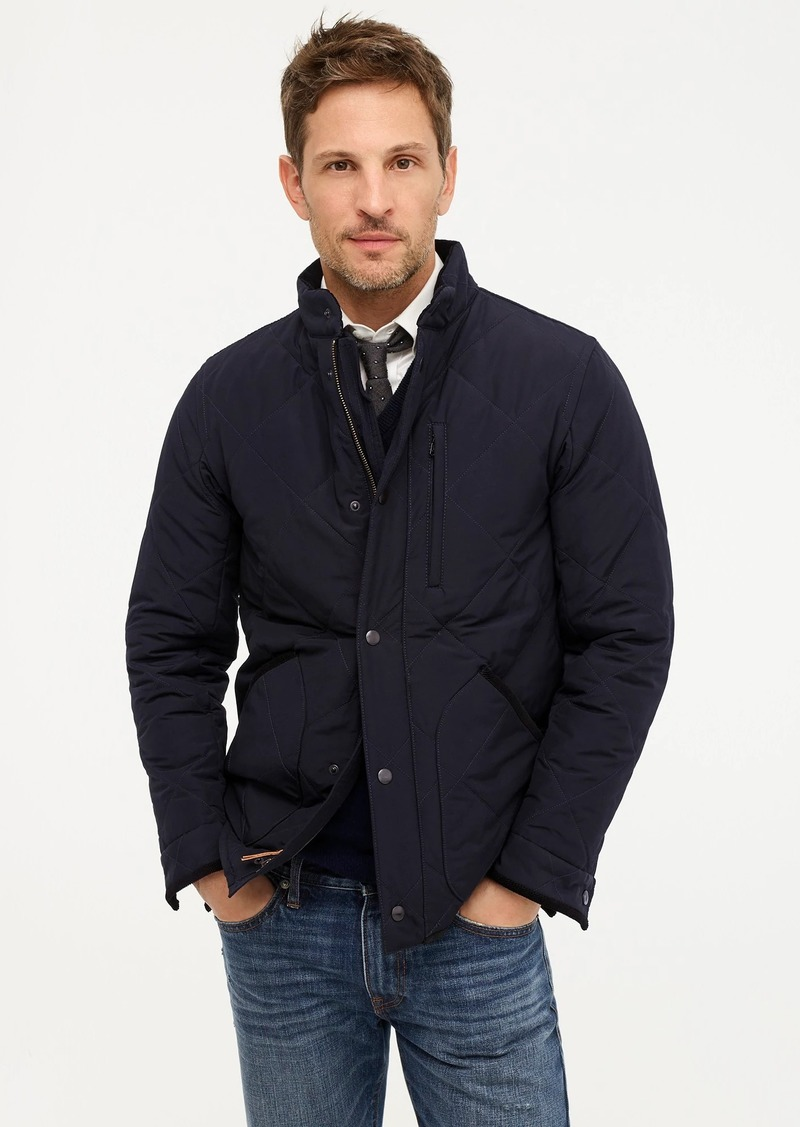 J.Crew Sussex quilted jacket with eco-friendly PrimaLoft®