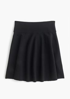 J.Crew Sweater flare mini skirt