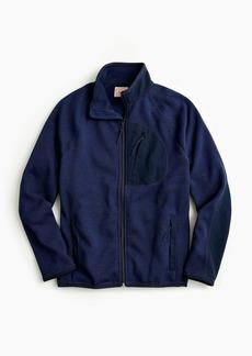 J.Crew Sweater fleece zip-front jacket