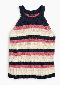 J.Crew Sweater tank in stripe
