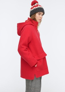 J.Crew Swing coat in Italian stadium-cloth wool