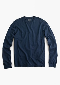 Tall broken-in long-sleeve T-shirt